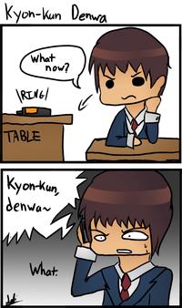 Endless Eight / Kyon-kun Denwa!