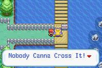 Nobody Canna Cross It