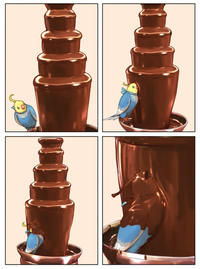 Chocolate Bird