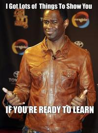 """Brian McKnight """"If You're Ready To Learn"""""""