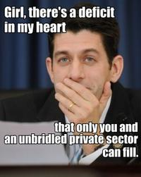Hey Girl, It's Paul Ryan