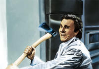 Patrick Bateman With an Axe