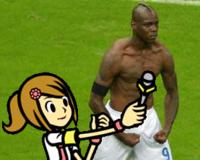 Mario Balotelli's Goal Celebration