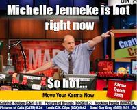 Michelle Jenneke's Warm Up Dance