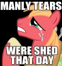 Manly Tears