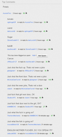 YouTube Comment Memes