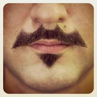 Batman Moustache (Batstache)