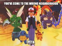 Pokémon Black and Blue / PETA Pokémon Parody