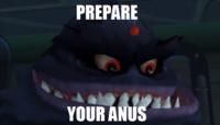 PREPARE YOUR ANUS