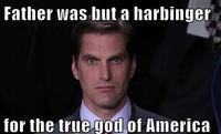 Menacing Josh Romney