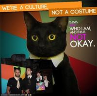We're a Culture, Not a Costume