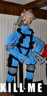 Balloon Solid Snake