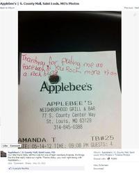 Applebee's Boycott