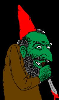 Scheming Gnome