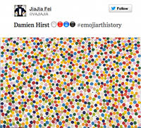 #EmojiArtHistory