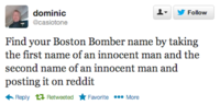 2013 Boston Marathon Bombings