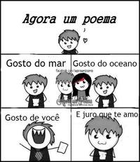 Agora um poema / And now, a poem