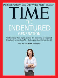Time Magazine Cover: Me Me Me Generation
