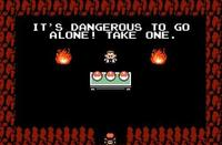 It's Dangerous to Go Alone! Take This