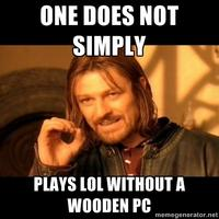 Wooden PC