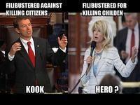 Senator Wendy Davis' Filibuster