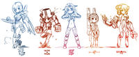 Gijinka (擬人化) / Humanization