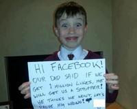 One Million Facebook Likes Pleas