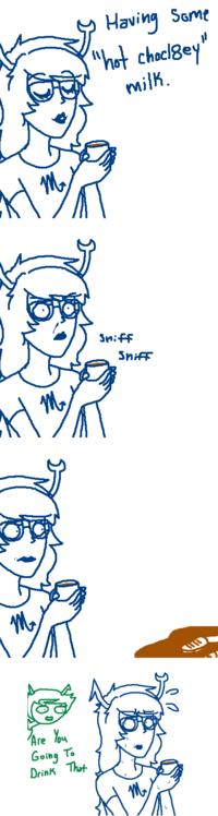 Hot Choclety Milk
