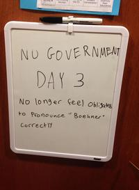 2013 U.S. Government Shutdown