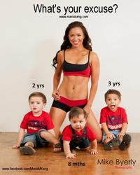 """""""Fit Mom"""" Controversy"""