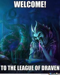 Draven's Mustache/League of Draven