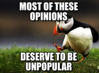 Unpopular Opinion Puffin