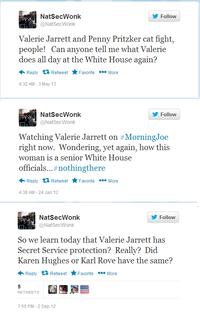 The White House Twitter Troll
