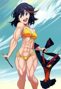 Ryuko Matoi Bikini Edit