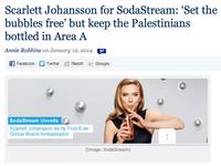 Scarlett Johansson's SodaStream Ad Controversy