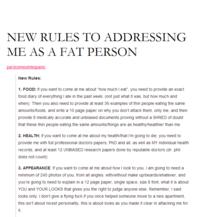 Fat Acceptance Movement