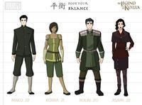 Avatar: The Last Airbender / The Legend of Korra