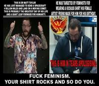 #Shirtstorm