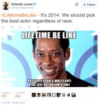 #LifetimeBeLike / #LifetimeBiopics