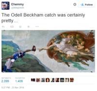 Odell Beckham Jr's Catch