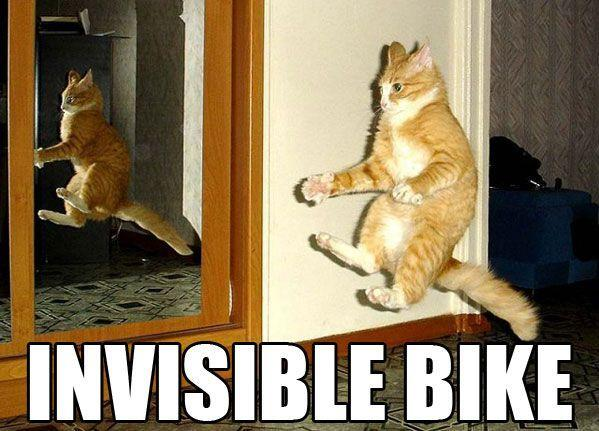 Invisible Bike | Know Your Meme