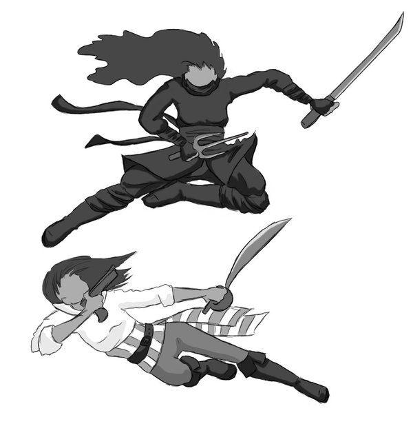 pirate_VS_ninja_bw_by_White_Kitten.jpg