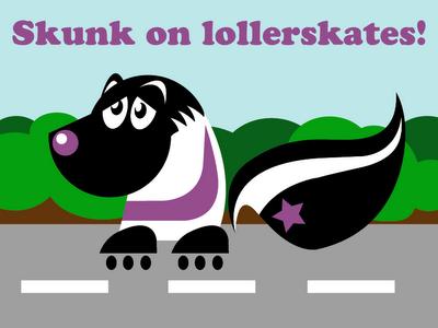 Skunk_on_lollerskates.png