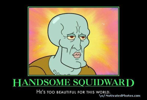 image 56561 handsome squidwardsquidward falling