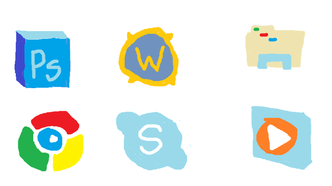 MS Paint Desktop Icons - Image #79,384