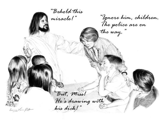 Re wtf jesus