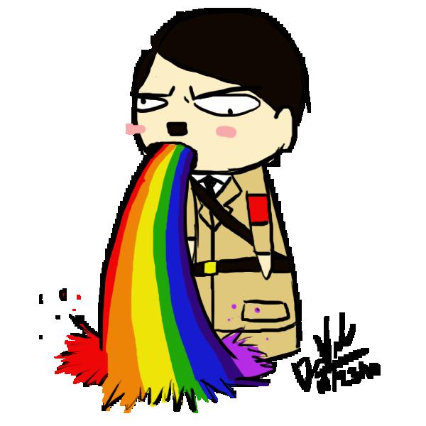 rainbow_puke_hitler_by_naigora49-d31znyi.png