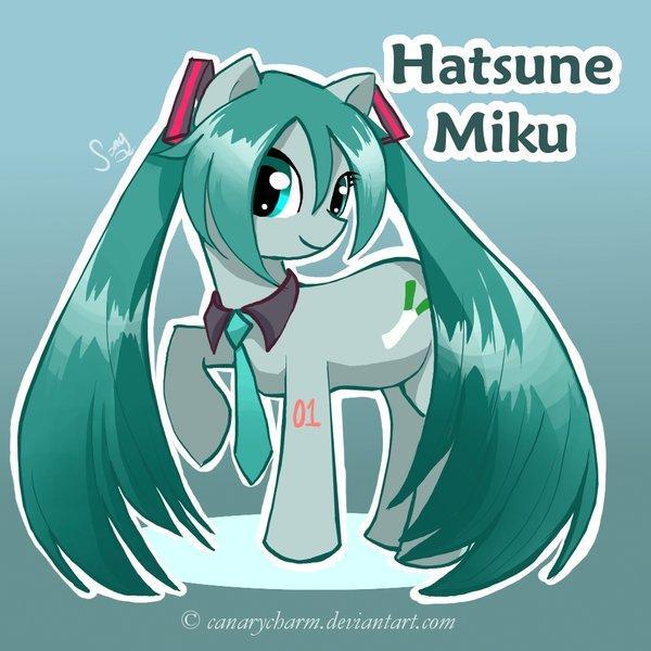 Vocaloid Pony: Hatsune Miku