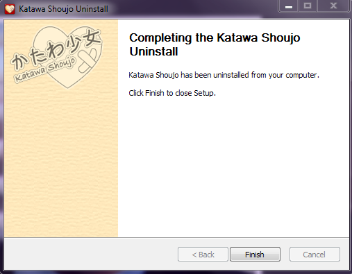 Katawa Shoujo Uninstall