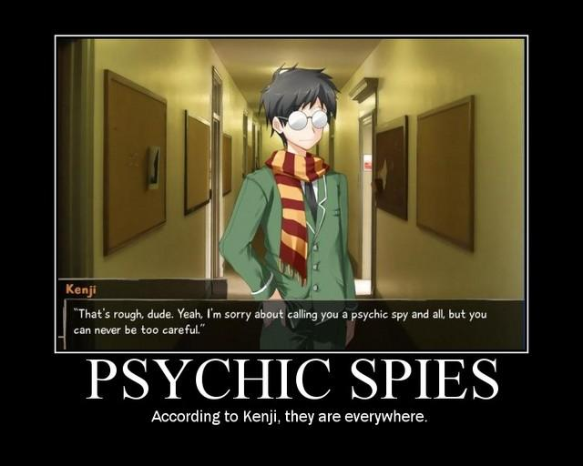 PSYCHIC SPIES
